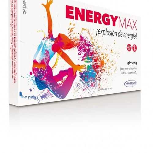 Homeosor Energy Max viales