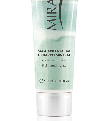 Miraur Mascarilla facial de barro natural