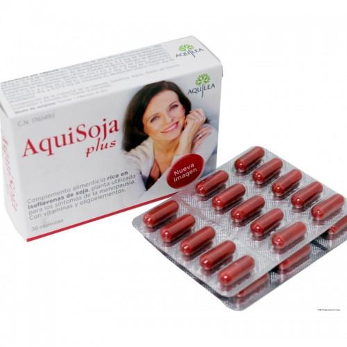 Aquilea Menopausia Plus Aquisoja 30 cápsulas