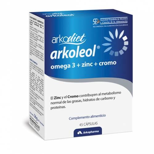 Arkopharma Arkodiet Arkoleol 45 cápsulas