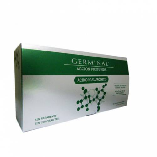 Germinal Acción Profunda Ácido Hialurónico ampollas