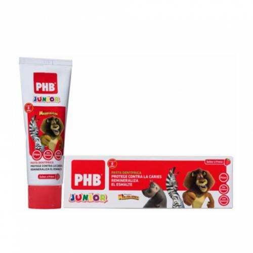 PHB Pasta dental junior sabor fresa