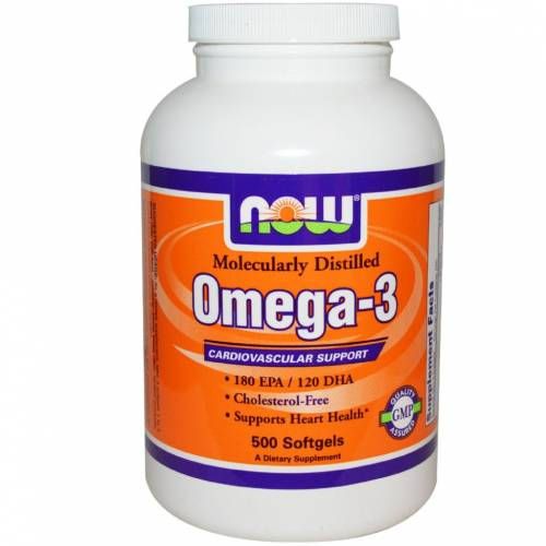 Now Omega - 3 Cardiovascular support 200 cápsulas