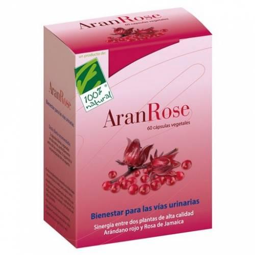 100% natural AranRose 60 cápsulas vegetales