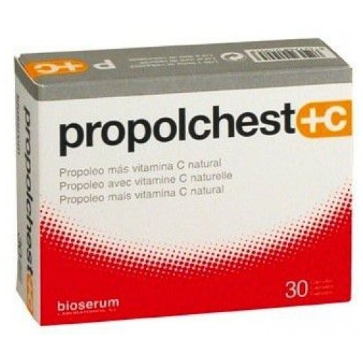 Bioserum Propolchest + C 30 cápsulas