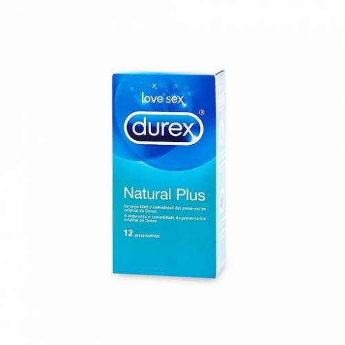 durex natural plus 12