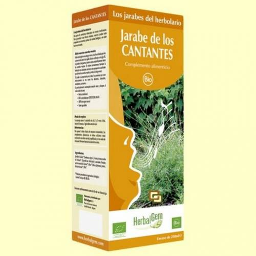 HerbalGem Jarabe de los Cantantes 250 ml