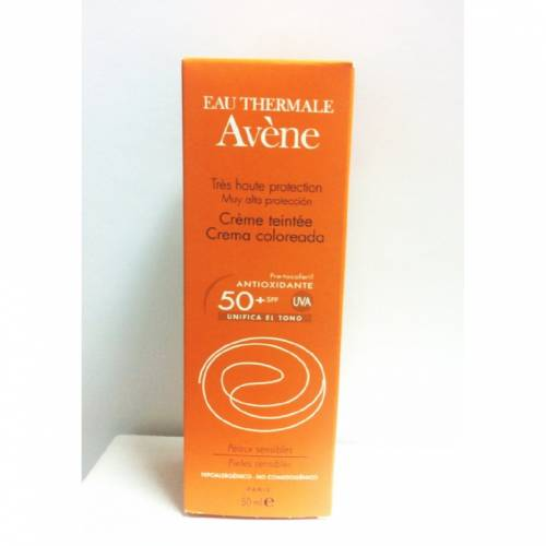 avene crema facial color