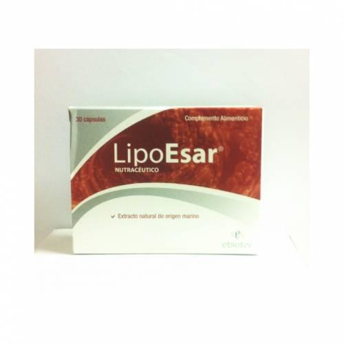 Ebiotec LipoEsar 30 cápsulas