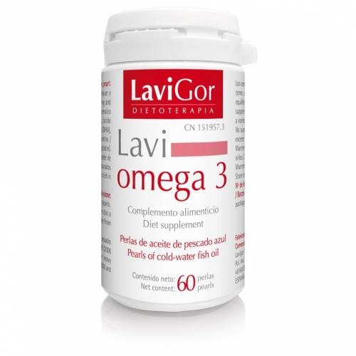 LaviGor Lavi Omega 3 60 perlas