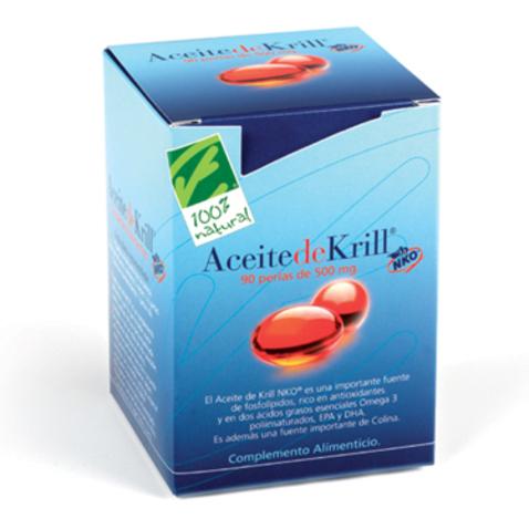 100% Natural Aceite de Krill