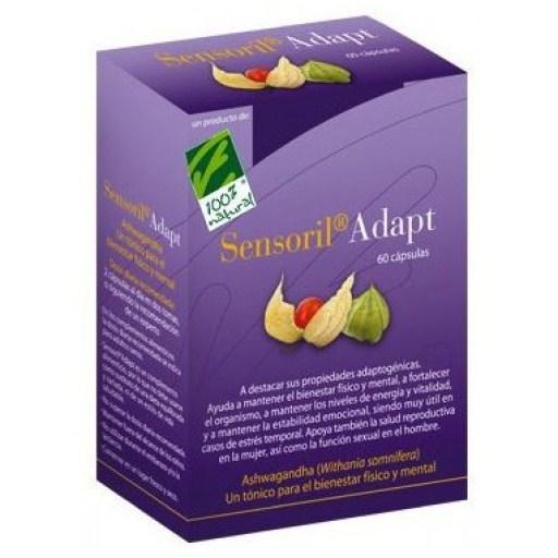 100% Natural Sensoril Adapt 60 cápsulas
