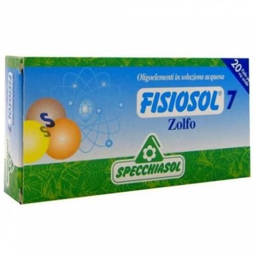 Specchiasol Fisiosol 7 Azufre 20 ampollas