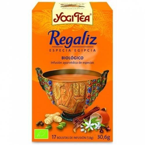 Yogi Tea Regaliz 17 bolsitas de infusión