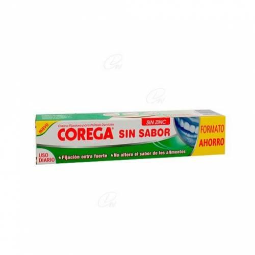 Corega Crema Fijadora Sin Sabor 70 g