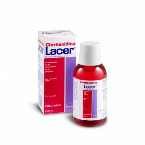 Lacer Clorhexidina Colutorio 200 ml
