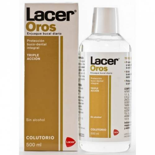 Lacer oros enjuague bucal 500 ml