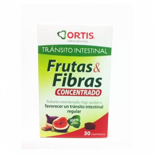 Ortis Tránsito Frutas & Fibras Concentrado 30 comprimidos