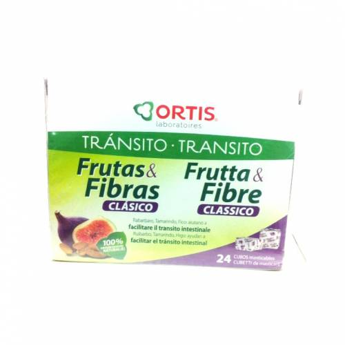 Ortis Tránsito Frutas & Fibras Clásico 24 cubos