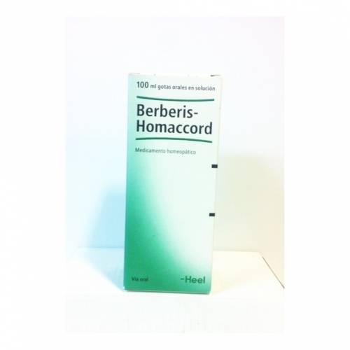 Heel Berberis Homaccord Gotas 100 ml