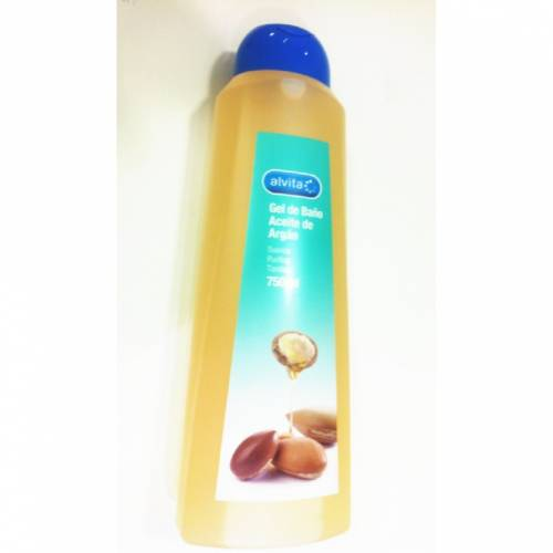 Alvita Gel de Baño Aceite de Argán 750 ml