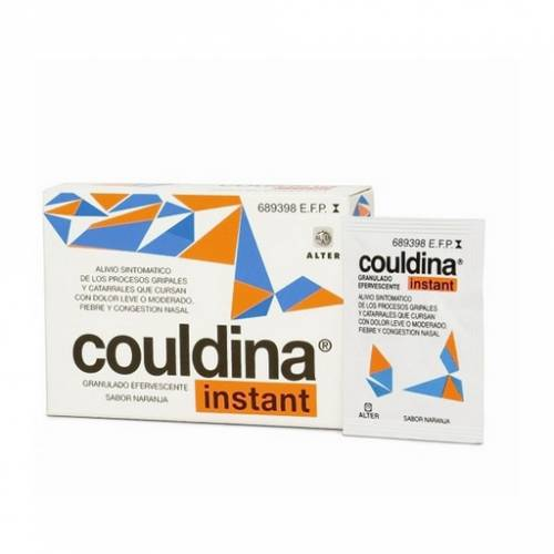 Alter Couldina Instant con Ac. Acetilsalicílico