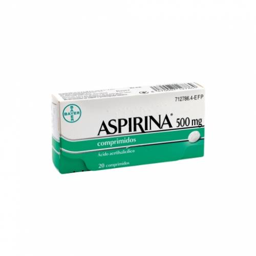 Bayer Aspirina 500 mg
