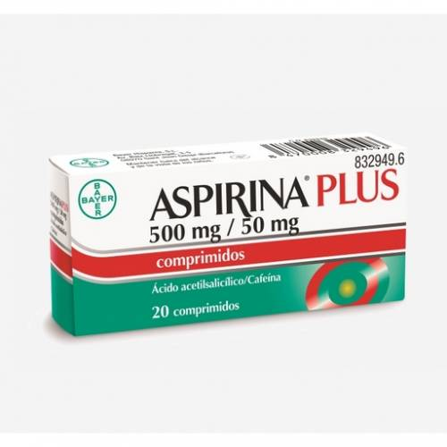 Bayer Aspirina Plus 500 mg/50 mg