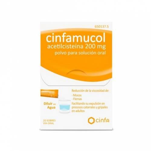 Cinfa Cinfamucol Acetilcisteina