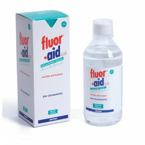 Dentaid Flour·Aid 0.05 Colutorio 500 ml