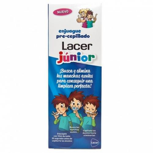 Lacer Junior Enjuague Precepillado 500 ml