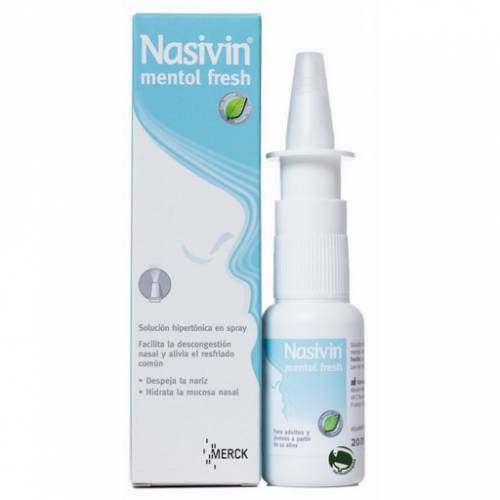 Merck Nasivin Menthol Fresh 20 ml