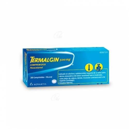 Termalgin Comprimidos 500 mg