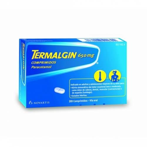 Termalgin Comprimidos 650 mg