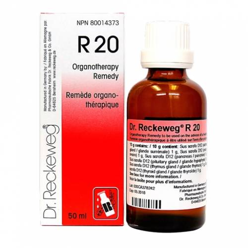 Dr. Reckeweg R20 Euglandin-F Gotas 50 ml