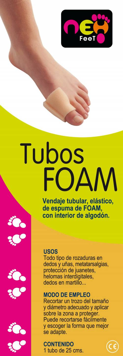 Neh Feet Tubos Foam
