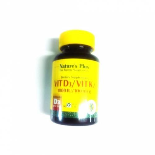 Nature's Plus Vitaminas D3/K2