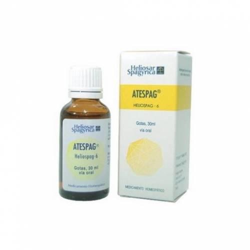 Heliosar Spagyrica Atespag Helispag - 6 Gotas 30 ml