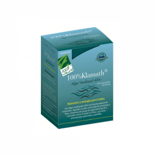 alga verdiazul Klamath