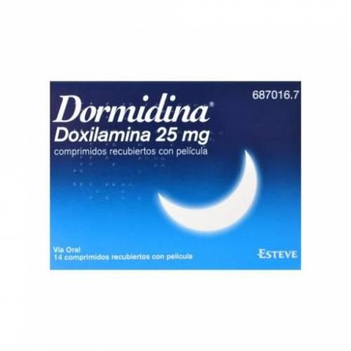 Dormidina Doxilamina 25 mg