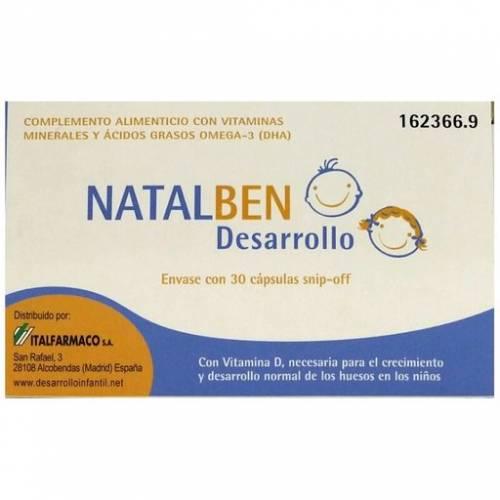 Italfarmaco Natalben desarrollo