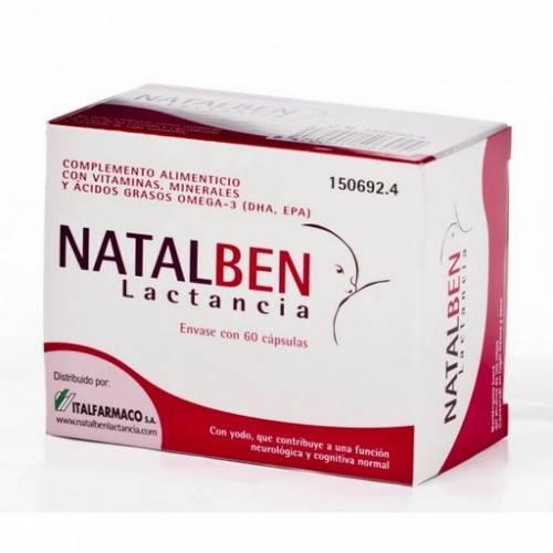 Italfarmaco Natalben Lactancia 60 cápsulas