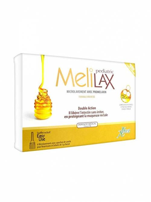 Aboca Melilax Pediátrico 6 MicroEnemas