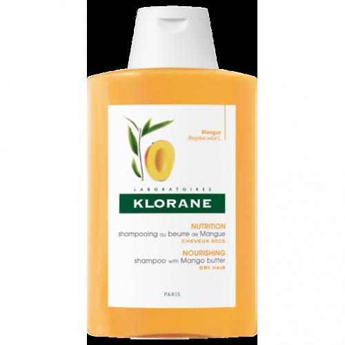Klorane Champú Tratante Nutritivo a La Manteca De Mango 400mL