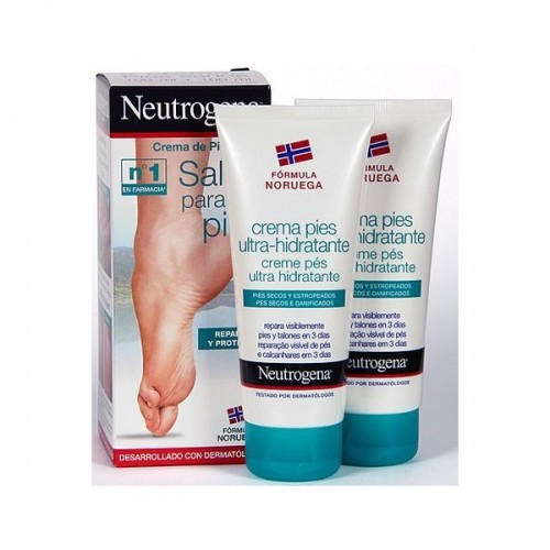 Neutrogena Pack 2 Cremas Pies Sanos 100ml+100ml