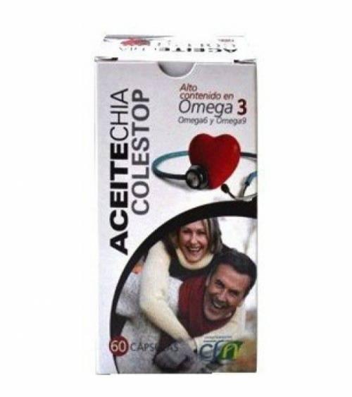 Aceite Chia Eco Caox-2 (SALVIA HISPANICA) 60perlas (CFN)