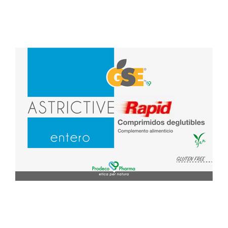 GSE Entero Astrictive Rapid 24 Comprimidos deglutibles