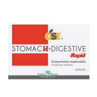 GSE Stomach Digestive Rapid 24 Comprimidos Masticables