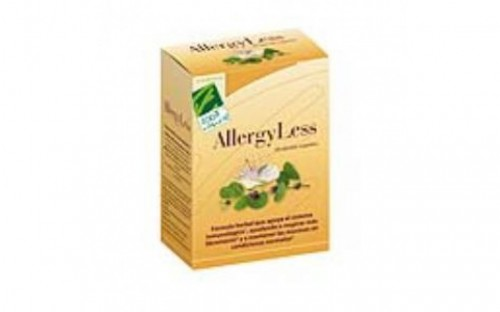 100% Natural Allergyless 60cap.veg.