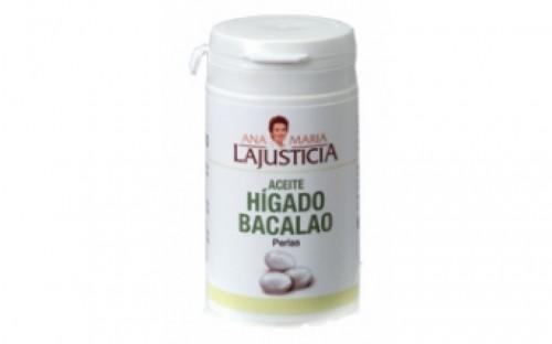 Ana M LaJusticia HIGADO BACALAO 90perlas